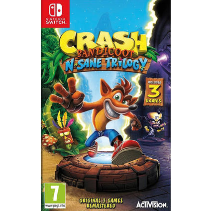 Crash Bandicoot Switch IT
