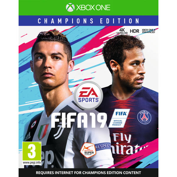 electronic arts fifa 19 champions edition xbox one dfi. Black Bedroom Furniture Sets. Home Design Ideas