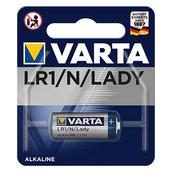 Bild VARTA LR1/Lady Alkali Batterien