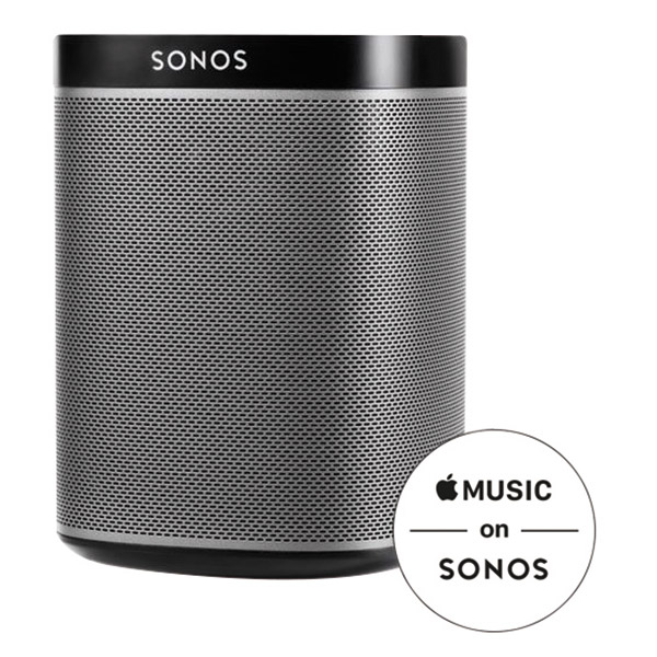 sonos play 1 black g nstig kaufen. Black Bedroom Furniture Sets. Home Design Ideas