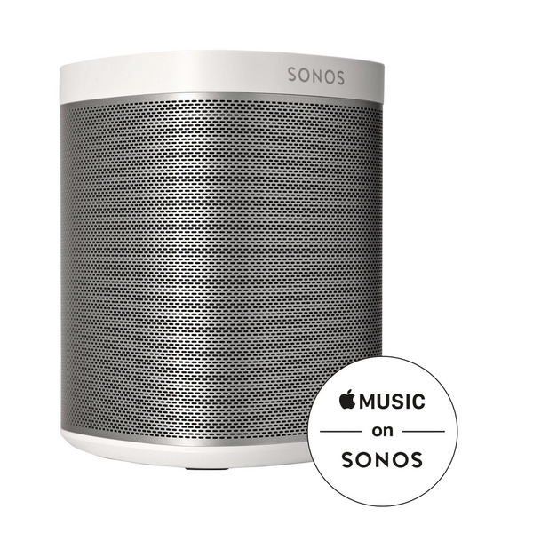 sonos play 1 blanc smart speaker pas cher. Black Bedroom Furniture Sets. Home Design Ideas