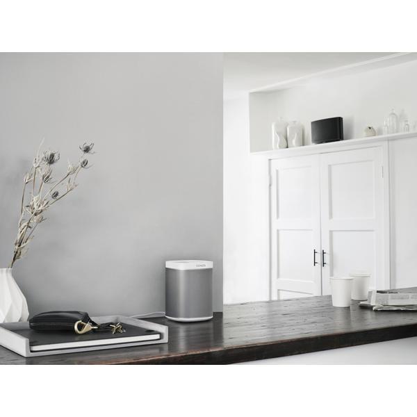 sonos play 1 weiss smart speaker g nstig kaufen. Black Bedroom Furniture Sets. Home Design Ideas