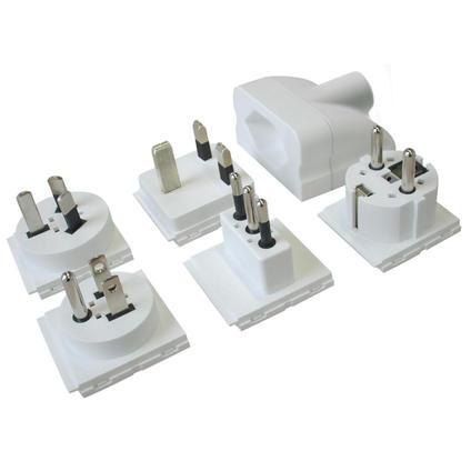 Bild Steffen Adapter Set World CH Stromkabel/Stromzubehör
