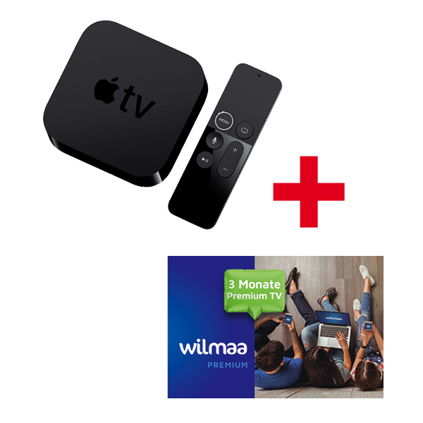 TV 4K 32 GB + Gratis 3 Monate Wilmaa Me Plus