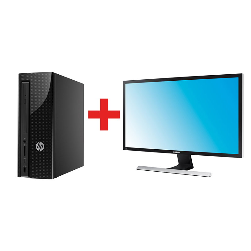 HP 260-a105nz + SamsungLU28E570DS/EN