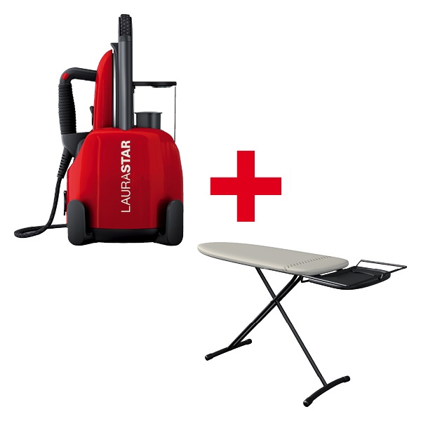 Laurastar LIFT ORIGINALE RED + Gratis COMFORTBOARD NEW
