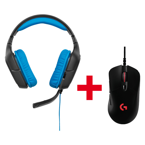 G430 Gaming Headset + G203 Prodigy Mouse