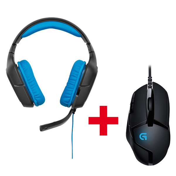 G430 Gaming Headset + G402 Hyperion Fury