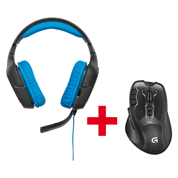 G430 Gaming Headset + G700s Wireless Mouse