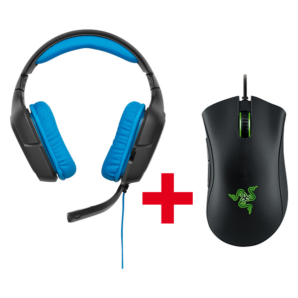G430 Gaming Headset + Razer DeathAdder Chroma