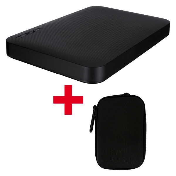 Canvio Ready 1TB Harddisk e Harddrive Case black