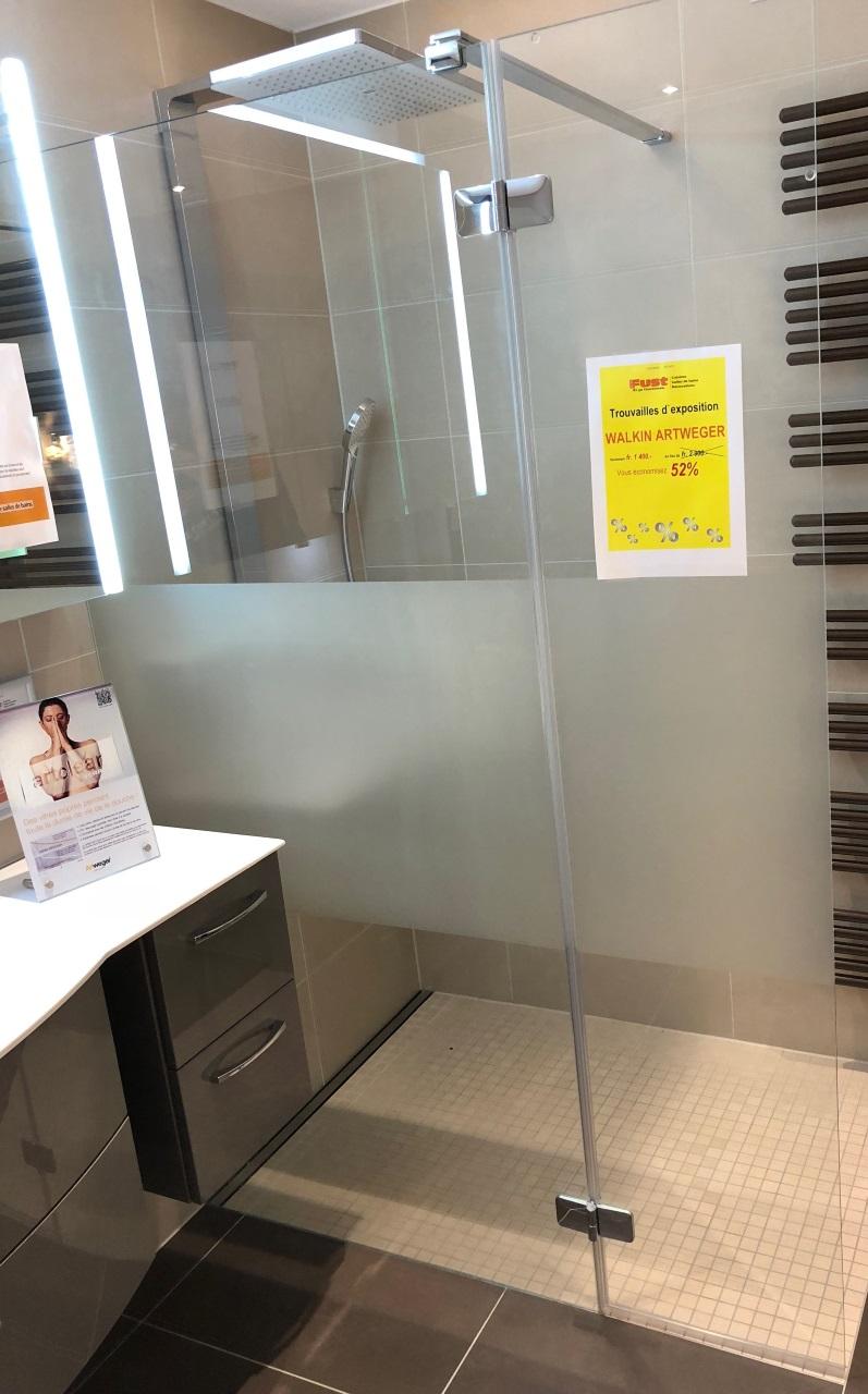 Exposition Salle De Bain Fust ~ walk in bonnes affaires salles de bains