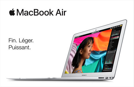 Markenseite - Apple - Produktneuheiten MacBookAir FR