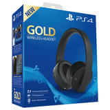 Wireless Headset Gold Edition - black