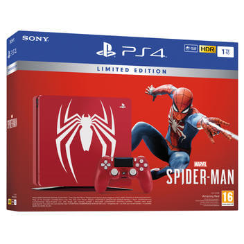 PS4 1TB + Spiderman