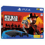 PS4 1TB + Red Dead Redemption 2 + 2DS