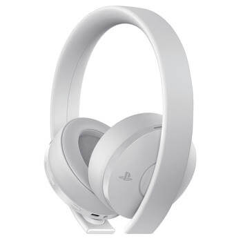 Wireless Headset Gold Edition - white