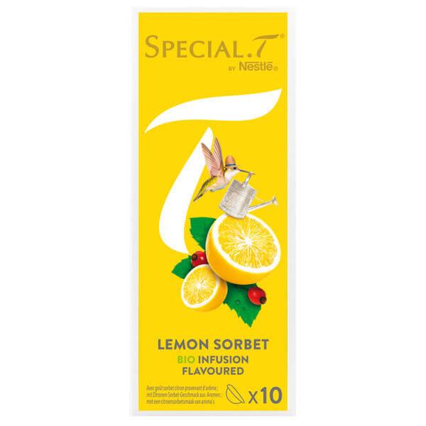 nestl special t organic lemon sorbet pas cher. Black Bedroom Furniture Sets. Home Design Ideas