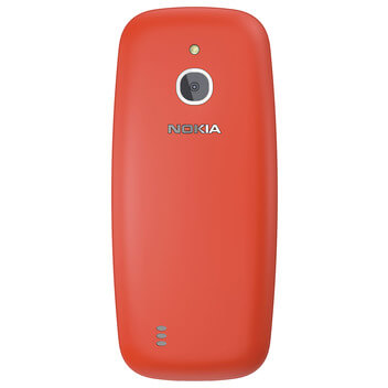 Nokia 3310 3G warmred