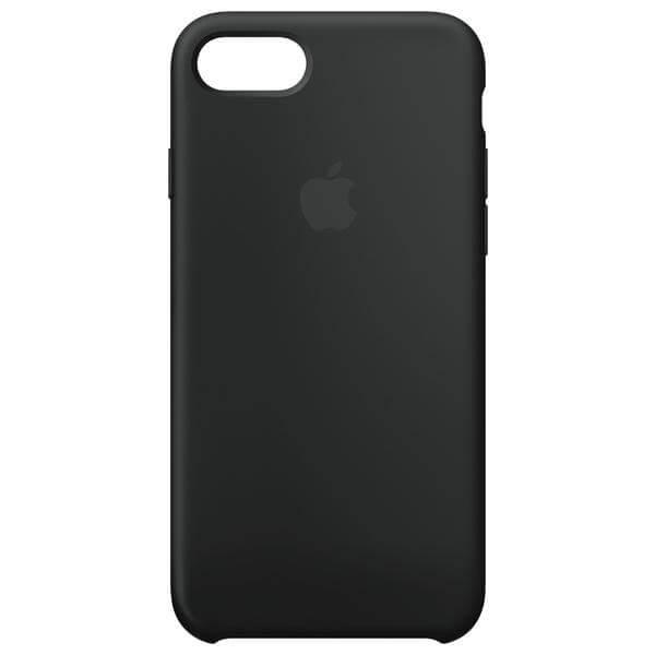 apple iphone 8 silikon case black g nstig kaufen. Black Bedroom Furniture Sets. Home Design Ideas
