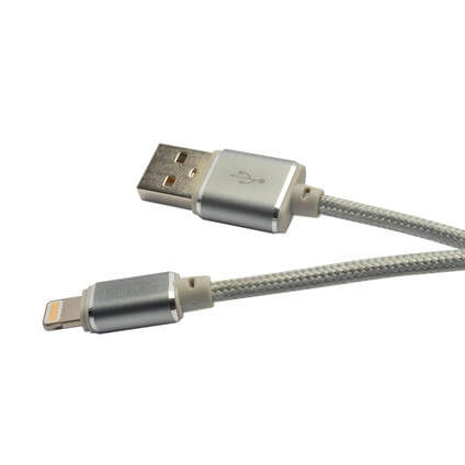 USB Lightning 1m space-grey