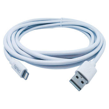 USB Lightning 3m white