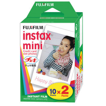 InstaxMini Film Twin Color 2x10