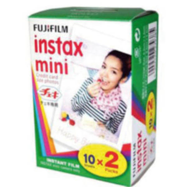 fujifilm instaxmini film twin color 2x10 fotos g nstig. Black Bedroom Furniture Sets. Home Design Ideas