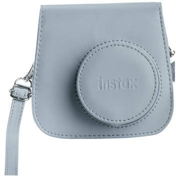 Instax Mini 9 Leather Case Smoky White