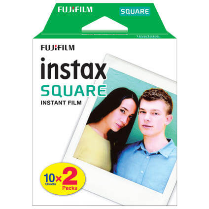 Instax Square Twin 2x10 photos