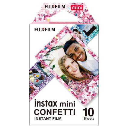 Instax Mini Film Confetti 10 Fotos