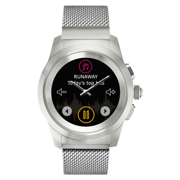 ZeTime Elite Regular Silber - Link Metal