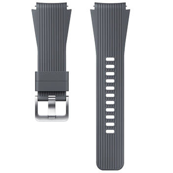 Silicone Band (22mm) gray