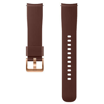 Silicone Band (20mm) brown