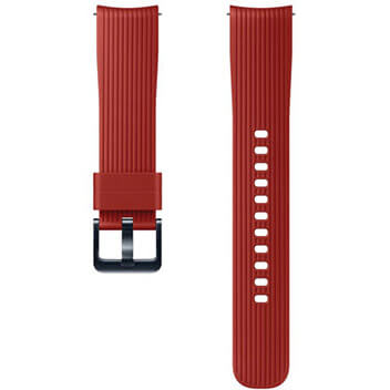 Silicone Band (20mm) red