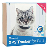 Tractive GPS Cat Tracker - black/blue