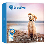 Tractive GPS Pet Tracker - white