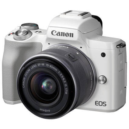 EOS M50/15-45IS STM Kit white (2681C012)