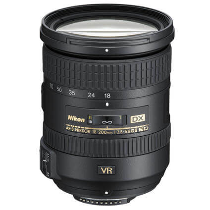 AF-S DX18-200mm incl. sconto immediato
