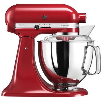 KITCHENAID Artisan - Robot pâtissier multifonction - 4.8 l - Rouge - (-)