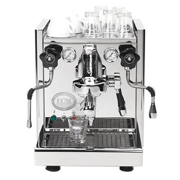 ECM TECHNIKA IV Machine à expresso (Acier inoxydable poli)