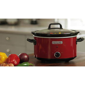 Crock-Pot 3.5 L rouge SCV400RD-050