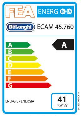 Delonghi ECAM 45 760 W Eletta Cappuccino Top - a prezzi bassi