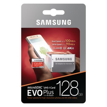 Micro SDXC 128 GB Evo Plus