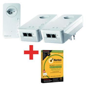 Magic 2 WiFi 2-1-3 + Norton Std. 1U WiFi