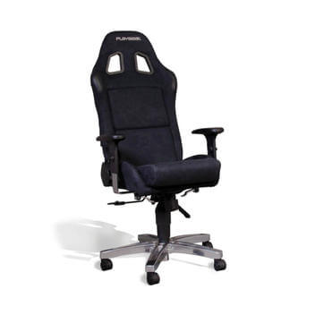 Office Seat Alcantara black