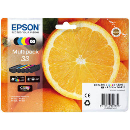 33 ORANGE Multipack T333740
