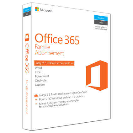 Office 365 Home, Francese