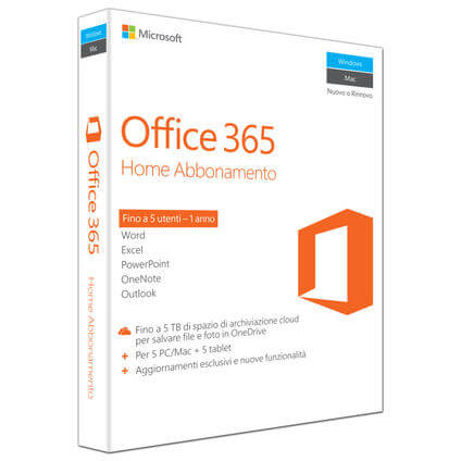 Office 365 Home, Italiano