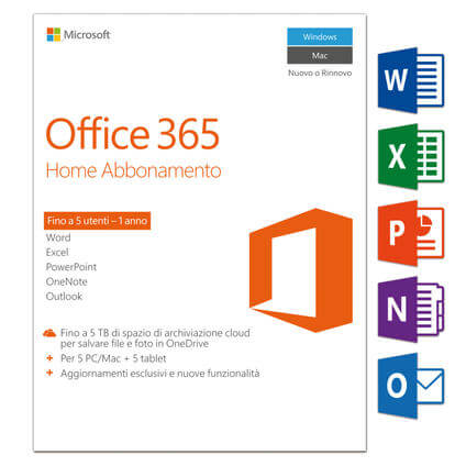 Office 365 Home, Italien